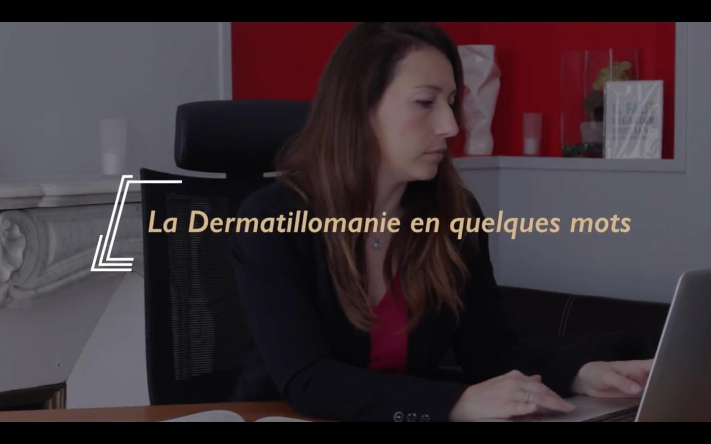 Vidéo dermatillomanie